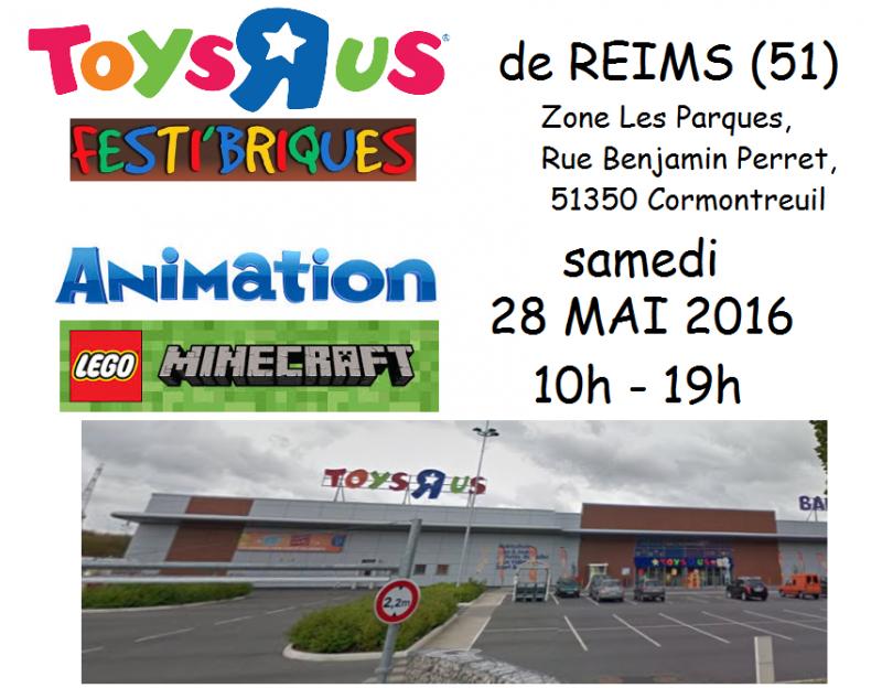 Atelier Minecraft Reims